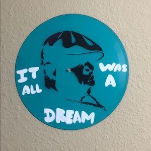 Biggie Smalls Art vinyl street painting hip hop